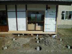 南幌町「野菜直売所」全体改修工事中001.jpg