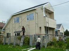 南幌町「K様邸」外壁・屋根修繕工事001.jpg