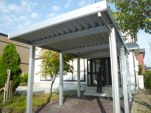 南幌町T邸カーポート新設工事011.JPG